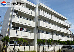 愛知県名古屋市緑区鳴海町字前之輪の賃貸マンションの外観