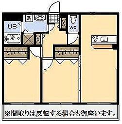 (新築)大王町マンション[201号室]の間取り