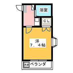 CONFORT32[2階]の間取り