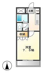 コンコルディア[1階]の間取り