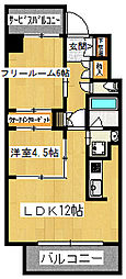 本町橋倶楽部[5階]の間取り