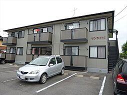 群馬県高崎市矢島町の賃貸アパートの外観