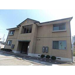 富山県富山市米田町1丁目の賃貸アパートの外観