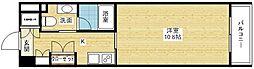 デュオン新大阪レジデンス[3階]の間取り