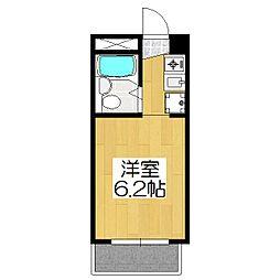 グローシングマンション[3-C号室]の間取り