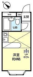 ベルピア八千代台2−2[2階]の間取り