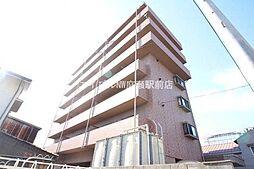 岡山県岡山市北区船頭町丁目なしの賃貸マンションの外観