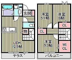 (仮称)D−room和泉市伯太[103号室]の間取り
