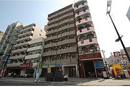 広島県広島市中区東白島町の賃貸マンションの外観