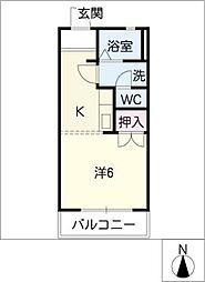 メゾン新栄2[2階]の間取り