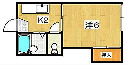 ハイツエコ[2階]の間取り