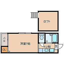 カルア博多[1階]の間取り