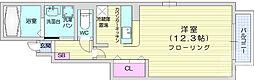 仙台市営南北線 八乙女駅 徒歩28分の賃貸アパート 1階1Kの間取り