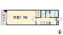 コンダクト藤松[302号室]の間取り