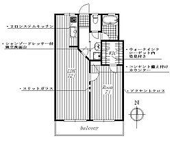 愛知県名古屋市昭和区広路通7丁目の賃貸マンションの間取り