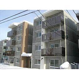 北海道札幌市白石区南郷通3丁目北の賃貸マンションの外観