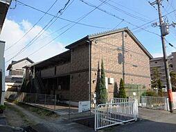 兵庫県尼崎市善法寺町の賃貸アパートの外観