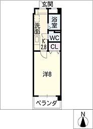 サンコート本山[2階]の間取り