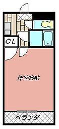 メゾン・ド・カリス[505号室]の間取り