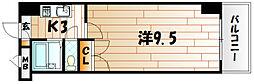 アリビオ南小倉[7階]の間取り