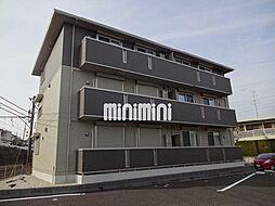 愛知県岡崎市大西3丁目の賃貸アパートの外観