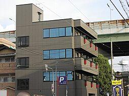 大阪府大阪市平野区背戸口4丁目の賃貸マンションの外観