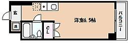兵庫県芦屋市浜芦屋町の賃貸マンションの間取り