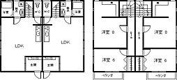 サニーハウス海咲[J-2号室]の間取り