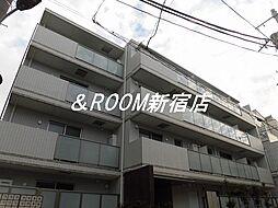 西麻布YKマンション[3階]の外観