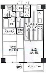 MSフォルム多摩川 bt[405kk号室]の間取り