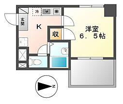 プロビデンス泉I[2階]の間取り