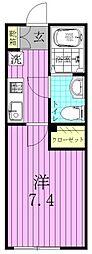 Le clair新松戸[2階]の間取り