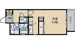 KAISEI江戸堀[6階]の間取り