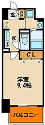 樽屋町マンション[1階]の間取り