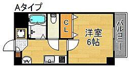 エクラ岸里[3階]の間取り
