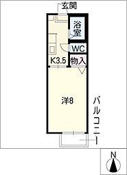 シェーネスハイム[2階]の間取り