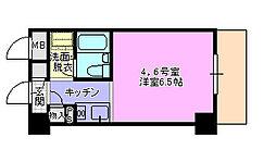ドミトリー茅ヶ崎[304号室]の間取り