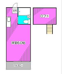 小平MIハイツ[1階]の間取り