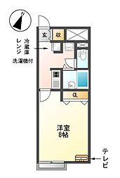 レオネクストTsukimi[1階]の間取り