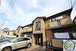 兵庫県明石市別所町の賃貸アパートの外観