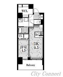 プレサンス錦ラウム[12階]の間取り