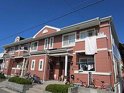 愛知県あま市新居屋鶴田の賃貸アパートの外観