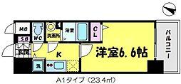 エスリード京橋[11階]の間取り