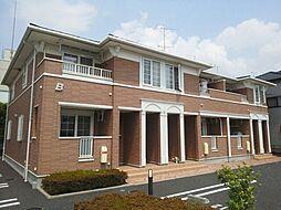 埼玉県鴻巣市上谷の賃貸アパートの外観