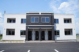 栃木県栃木市平柳町1丁目の賃貸アパートの外観