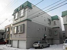 北海道札幌市南区澄川四条2丁目の賃貸アパートの外観