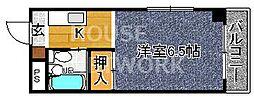 ぱんぷきんハウス[103号室号室]の間取り