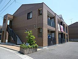 フェアリールージュB[2階]の外観