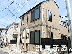 東京都渋谷区笹塚3丁目の賃貸アパートの外観