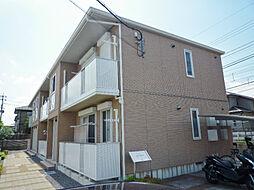 滋賀県大津市御殿浜の賃貸アパートの外観